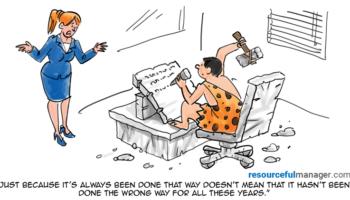 the way it has always been done cartoon