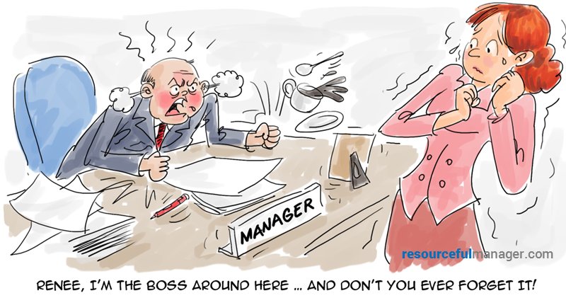 Bad Boss Cartoon