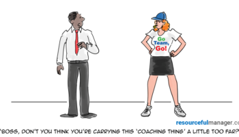 coaching employees cover art