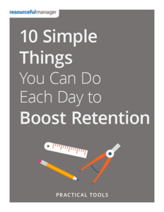 10 Simple Things You Can Do Each Day to Boost Retention