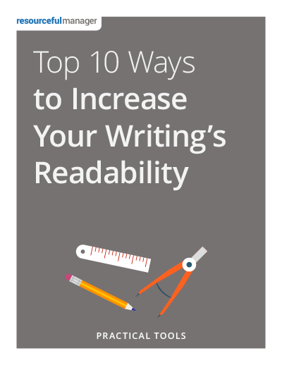 Cover: Top 10 Ways to Increase Your Writing's Readability