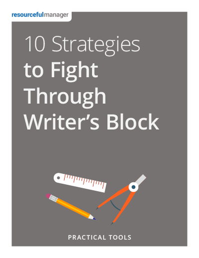 Cover: 10 Strategies to Fight Through Writer's Block