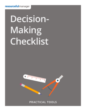 Cover - Decision-Making Checklist