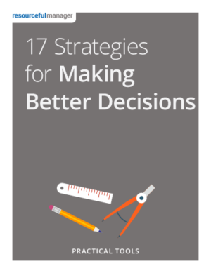 Cover - 17 Strategies for Making Better Decisions