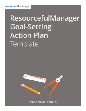 ResourcefulManager Goal-Setting Action Plan Template
