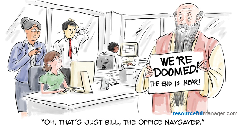 Office Naysayer