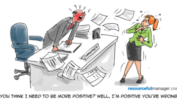 positive cartoon