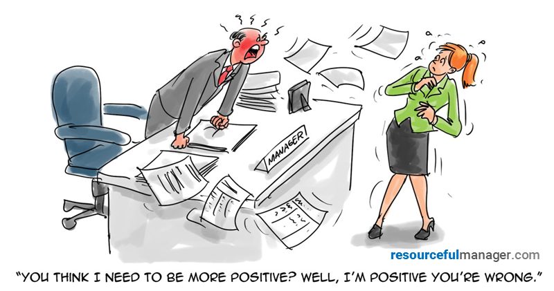 positive cartoon